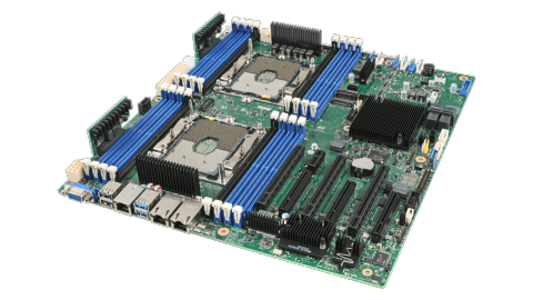 ION's PS StorageServer starts with an Intel ServerBoard.